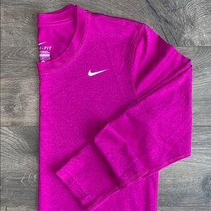 Nike Dri-Fit Long Sleeve Top (M)